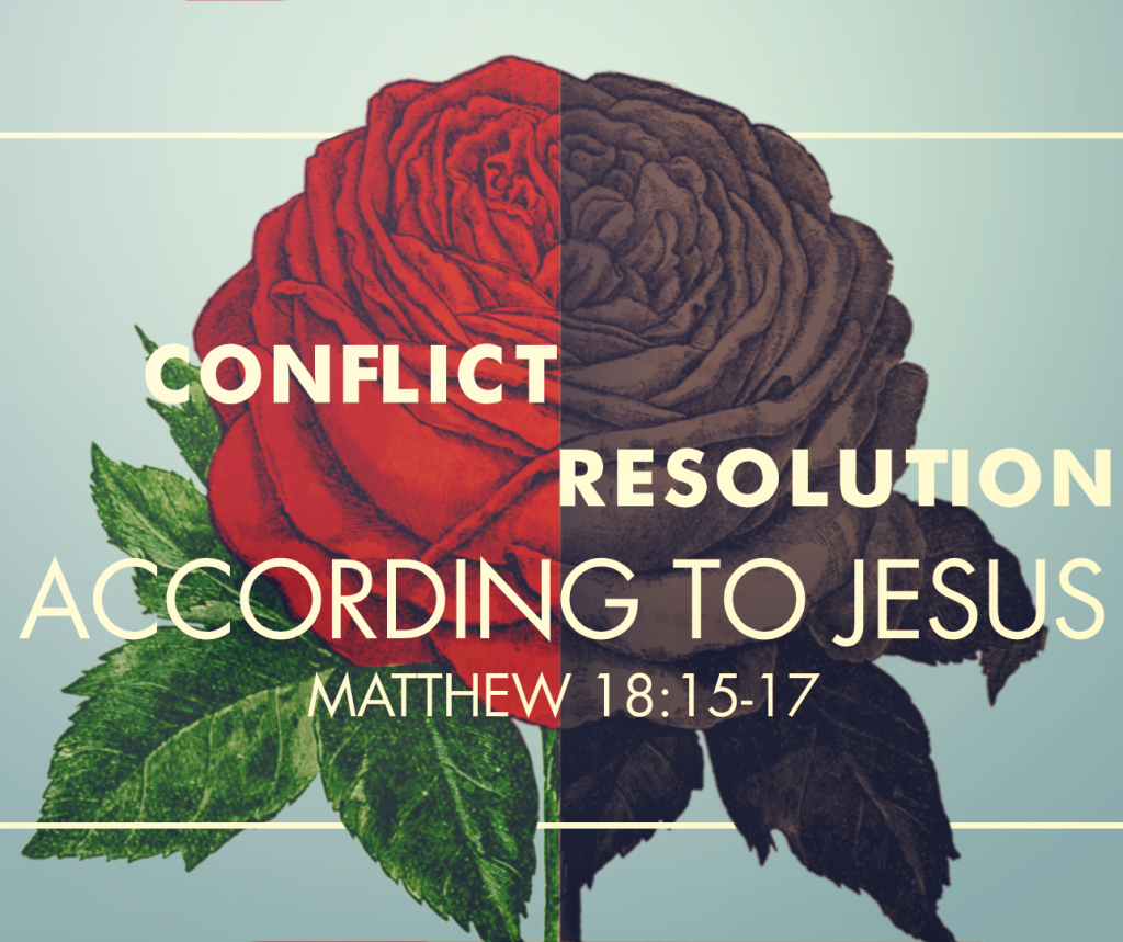 Conflict Resolution According to Jesus