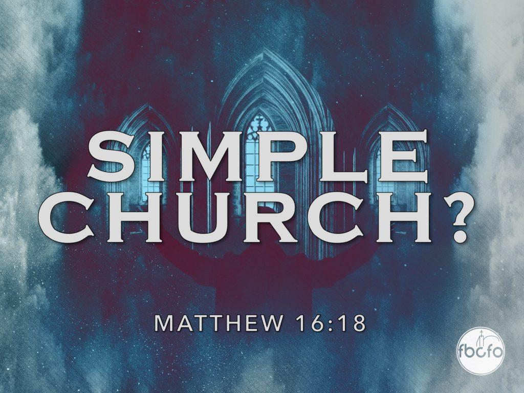 Simple Church Series